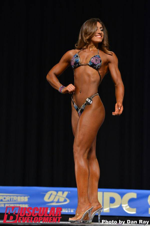 Discover How NPC Figure Athlete Danielle Garcia Evolved From A Local Level Competitor To A National Level Contender In Only One Year…