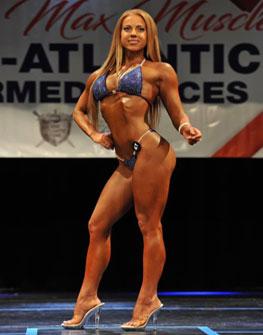 NPC Athlete Katie Meloche